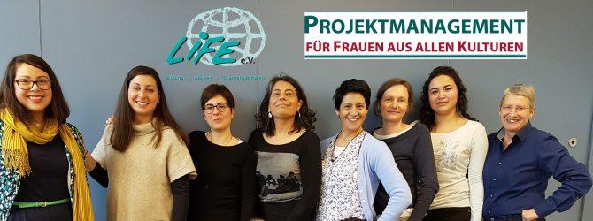 """Qualifizierung für """"Projektmanagement für Frauen aus allen Kulturen"""""""